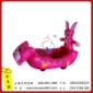 儿童充气玩具 充气电瓶车 毛绒电瓶车